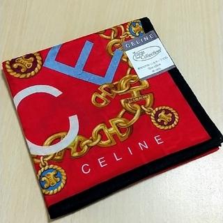 celine - セリーヌ 大判ハンカチ