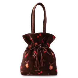 FEILER - 《FEILER》レトロフルーツドット 巾着 バッグ