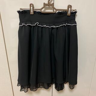 アンクルージュ(Ank Rouge)のアンクルージュ スカート ブラック(ミニスカート)