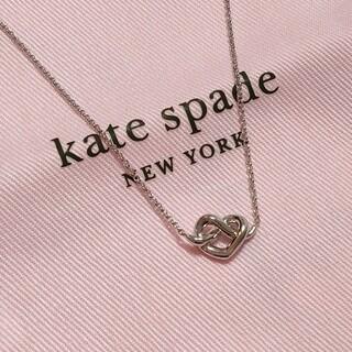 kate spade new york - 人気商品★ケイトスペード ニューヨーク ハート ミニ ネックレス シルバー