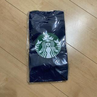Starbucks Coffee - スターバックス スクエアトートバッグ ドリンクホルダー ネイビー