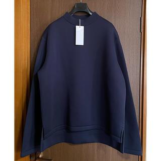 Maison Martin Margiela - 濃紺52新品 メゾン マルジェラ オーバーサイズ ロング スウェット シャツ