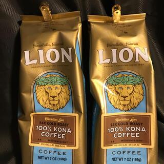 LION - LION COFFEEライオンコーヒー ハワイコナコーヒー100% 198g2袋