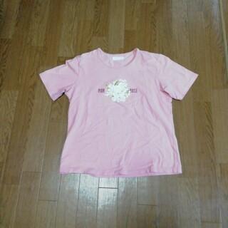 ピンクハウス(PINK HOUSE)のPINK HOUSE ♡ 白薔薇ブーケTシャツ♡(Tシャツ(半袖/袖なし))