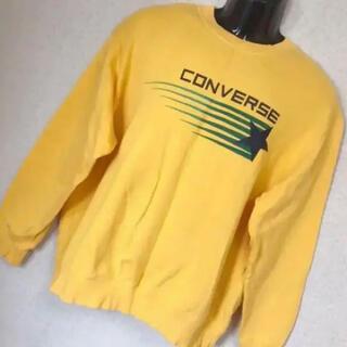 コンバース(CONVERSE)の90s CONVERSE コンバース ゆるダボ スウェット トレーナー 3L(スウェット)