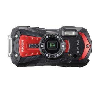 リコー(RICOH)のRICOH WG-60(レッド) 防水コンパクトデジタルカメラ 本体のみ(コンパクトデジタルカメラ)