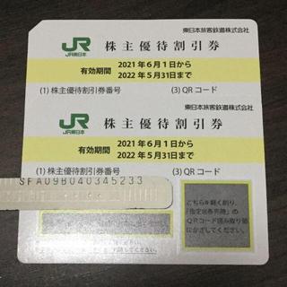 JR東日本・株主優待割引券2枚(その他)