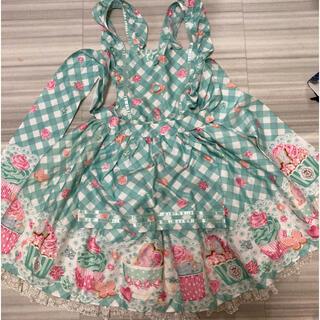 Angelic Pretty - 「最終値下げ」Sugar Fairy Cake Apron SK