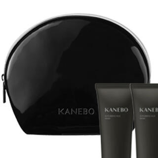 カネボウ(Kanebo)の新品未使用 「KANEBO」オリジナルポーチ エナメル調 ラウンドポーチ(ポーチ)