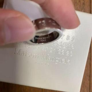 Maison Martin Margiela - [新品] メゾンマルジェラ  ナンバーリング XS シルバー925