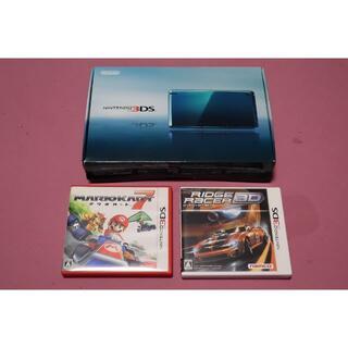 ニンテンドウ(任天堂)のNintendo 3DS 本体  リッジレーサー マリオカート7 3DS(携帯用ゲーム機本体)