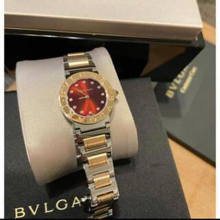 ブルガリ(BVLGARI)の値下げ❣️極美品❣️正規ブルガリレディース腕時計BBL26C11SDG(腕時計)