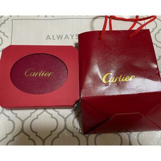 カルティエ(Cartier)のカルティエ 時計空箱(ショップ袋)