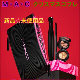 マック(MAC)の【新品☆未使用】MAC クリスマス コフレ ホリデー  マック アイシャドウ (コフレ/メイクアップセット)