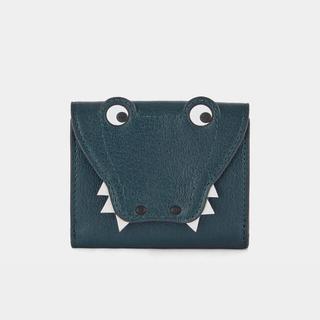 ANYA HINDMARCH - 新品!アニヤハインドマーチ新作 クロコダイル三つ折り財布