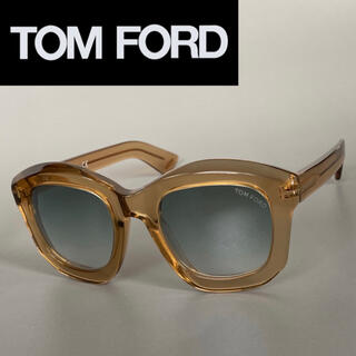 トムフォード(TOM FORD)のサングラス トムフォード ブラウン スケルトン ゴールド ミラーレンズ(サングラス/メガネ)