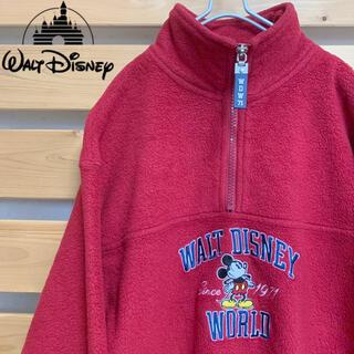 ディズニー(Disney)のDisney ディズニー ボアフリース 希少 ビッグシルエット 90s 古着(スウェット)