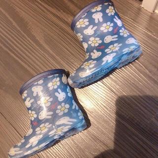 しまむら - ミッフィー レインブーツ 長靴 13cm