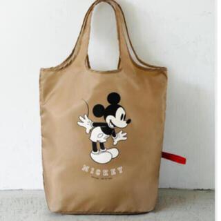 ミッキーマウス - Mickey ★ でかエコバッグ ★ 新品付録