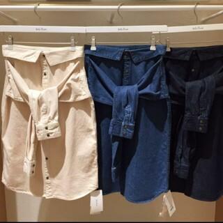 ミラオーウェン(Mila Owen)のミラオーウェン デニムシャツスカート(ひざ丈スカート)