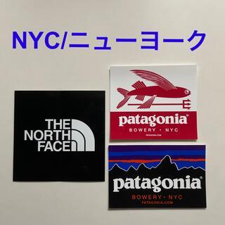 THE NORTH FACE - ステッカー3枚セット(パタゴニア & ノースフェイス)