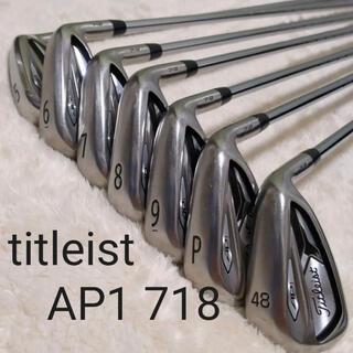 Titleist - タイトリスト AP1 718 5I〜48° 7本セット