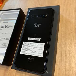 LG Electronics - LG V60 ThinQ 5G L-51A The Black 128GB