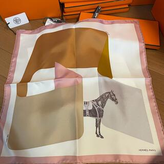 エルメス(Hermes)の今月購入❣️新作新品❣️正規エルメスシルクスカーフカレ45(バンダナ/スカーフ)