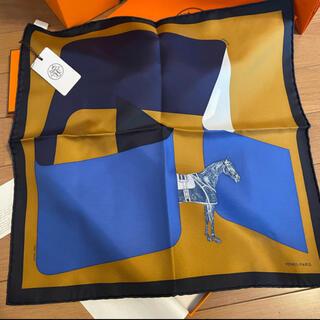 エルメス(Hermes)の先月購入❣️新作新品❣️正規エルメスシルクスカーフカレ45 (バンダナ/スカーフ)