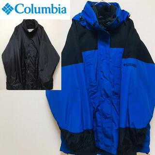 コロンビア(Columbia)の90's コロンビア 3WAYジャケット ライナー、フード付き(ナイロンジャケット)