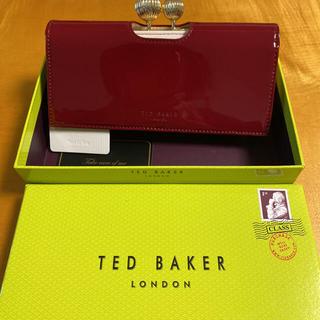 テッドベイカー(TED BAKER)のTED BAKER がま口長財布(財布)
