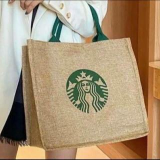 Starbucks Coffee - スターバックス スタバ トートバッグ ジュートエコバッグ   STARBUCKS