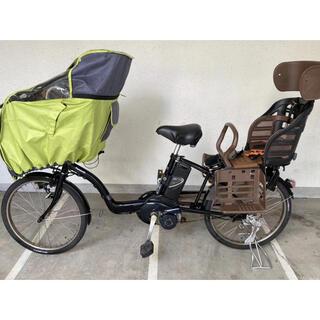 Panasonic - 20インチ パナソニック 電動自転車 3人乗り電動自転車 子供乗せ 大容量