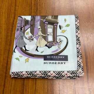 BURBERRY - BURBERRバーバリーハンカチ