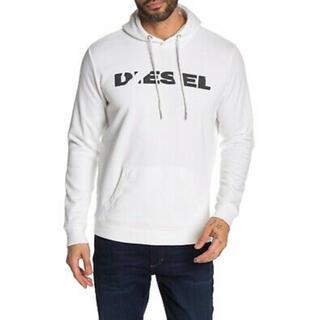 DIESEL - DIESEL  新品未使用 Lサイズ パーカー フーディー ホワイト ディーゼル
