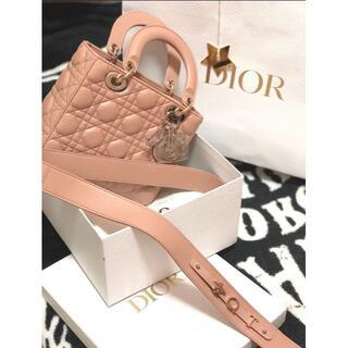Dior - レディディオール 2wayショルダーバッグ ラムスキン