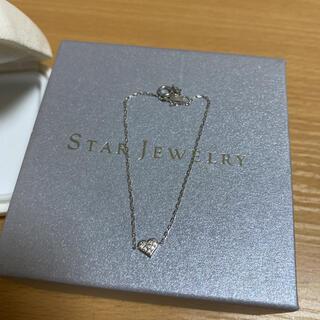 STAR JEWELRY - スタージュエリー ブレスレット K18ダイヤモンド