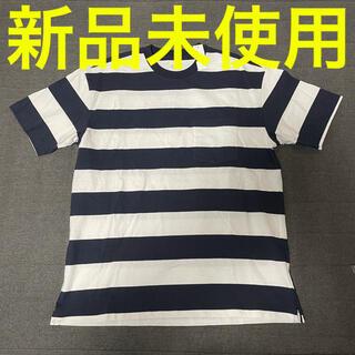 ギャップ(GAP)のGAP メンズ  ボーダーシャツ トップス 新品 Mサイズ ギャップ(Tシャツ/カットソー(半袖/袖なし))