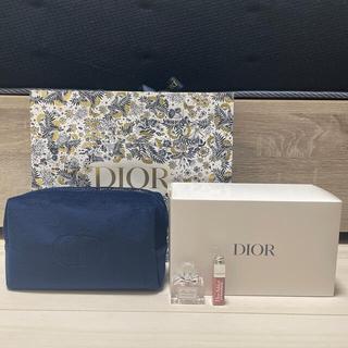 Dior - 【新品】ディオール 2021年限定 クリスマス コフレ オファーポーチ香水リップ