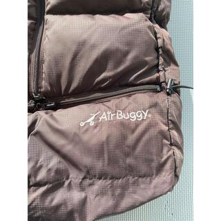 AIRBUGGY - エアバギー フットマフ ブラウン 茶色