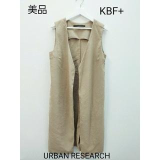 ケービーエフ(KBF)のKBF+ ベージュ ジャケット コート(ロングコート)