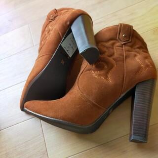 アングリッド(Ungrid)のUngrid ウエスタン ブーツ 未使用品(ブーツ)