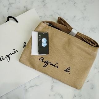 agnes b. - 新品★アニエスベーagnes b.サコッシュショルダーバッグ ベージュ