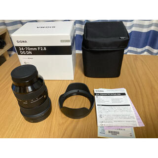 シグマ(SIGMA)のsigma 24-70mm F2.8 DG DN ソニーFE用(レンズ(ズーム))