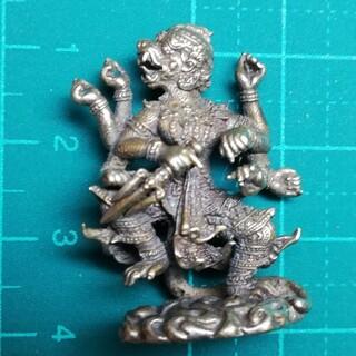 神様ミニメタル仏像 ハヌマーン シルバーカラー(彫刻/オブジェ)