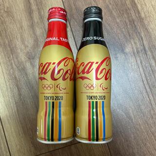 コカコーラ(コカ・コーラ)のTOKYO2020記念の缶コーラ未開封2本(ソフトドリンク)