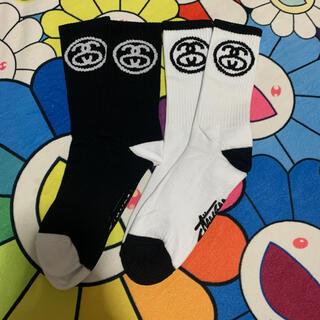 ステューシー(STUSSY)の新品 正規 stussy 靴下 ソックス 2足セット(ソックス)