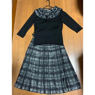 東京スタイルのセーター(M)とスカート(11)のセットアップ(セット/コーデ)