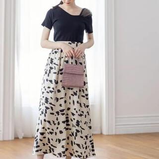 GRL - 美品 グレイル  GRL ダルメシアン柄フレアスカート