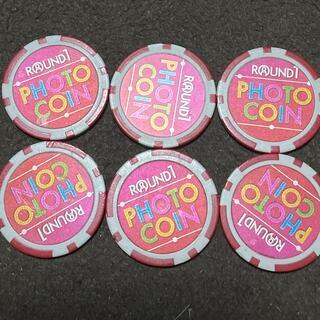 ラウンドワン フォトコイン 6枚(ボウリング場)